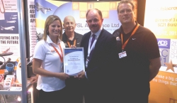 FSL accept their SC21 award